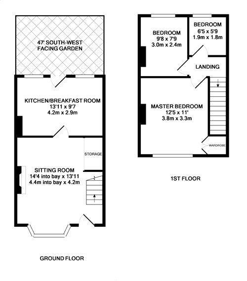 Floorplans For Hatherop Road, Hampton