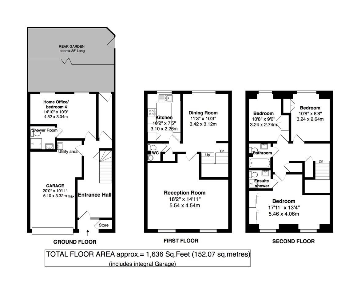 Floorplans For Langwood Chase, Teddington
