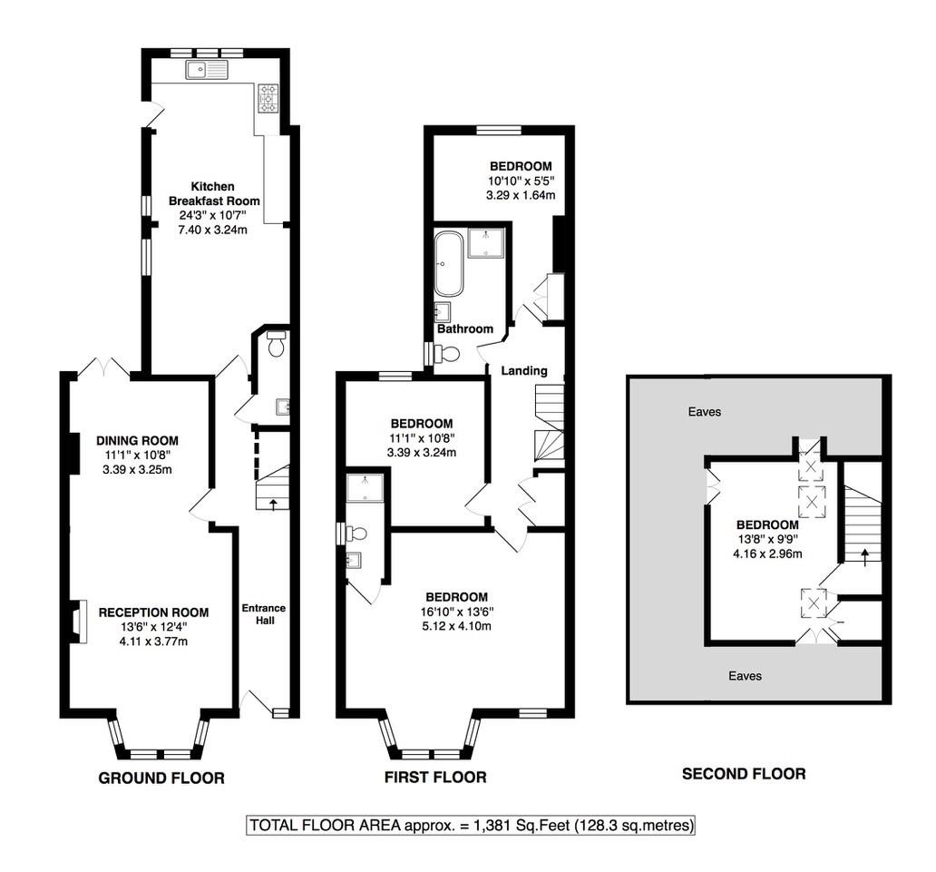 Floorplans For Broad Lane, Hampton